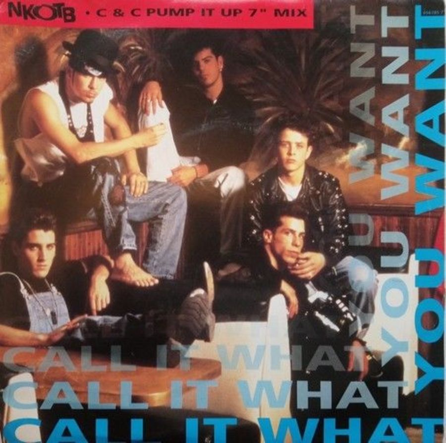 New Kids On The Block - Call It What You Want - Vinyl Record 7