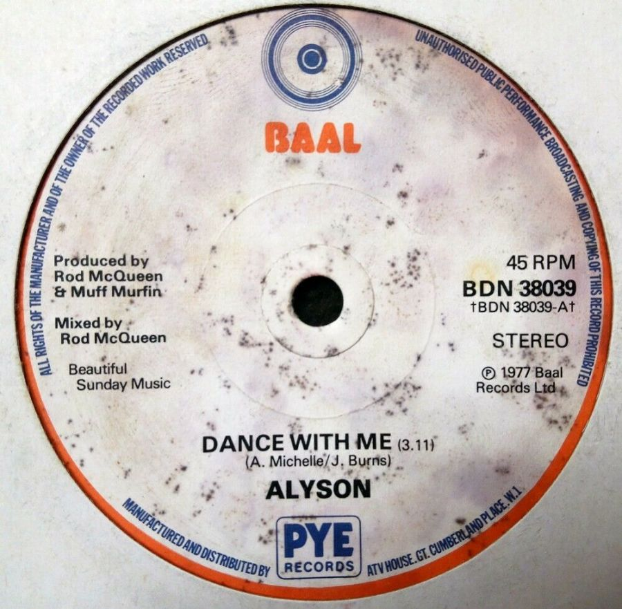 Alyson - Dance With Me - 7