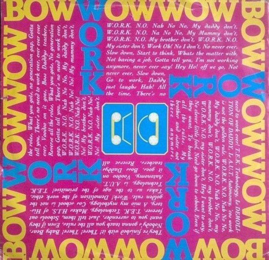 Bow Wow Wow - Work - Vinyl Record 7
