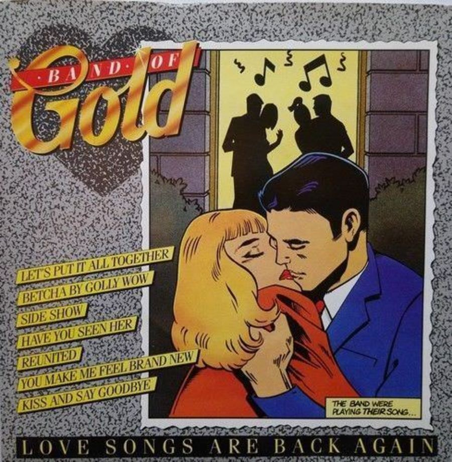 Band Of Gold - Various - Vinyl Record 7