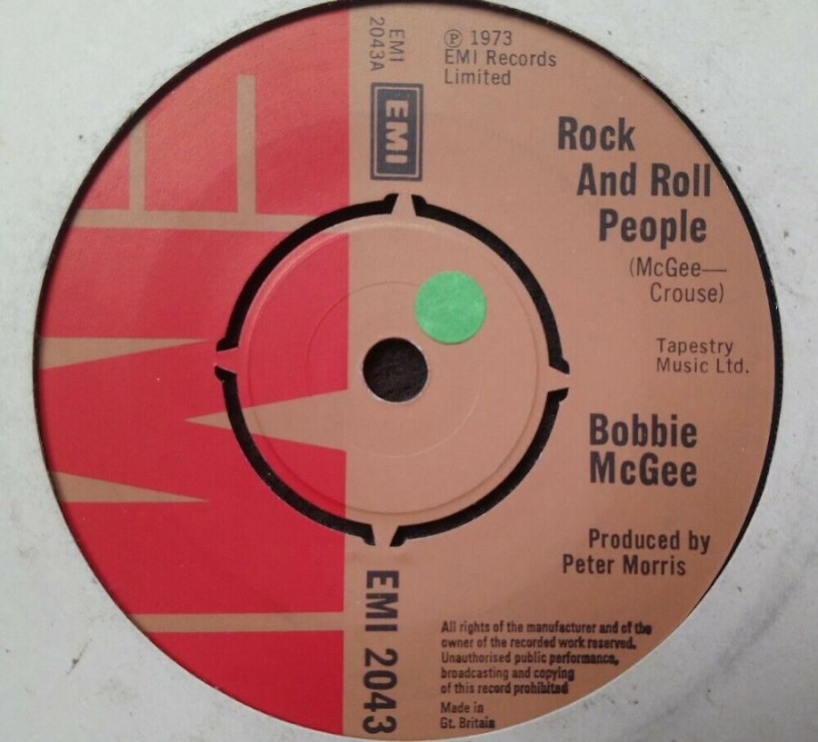 Bobby Mcgee - Rock And Roll People - 7