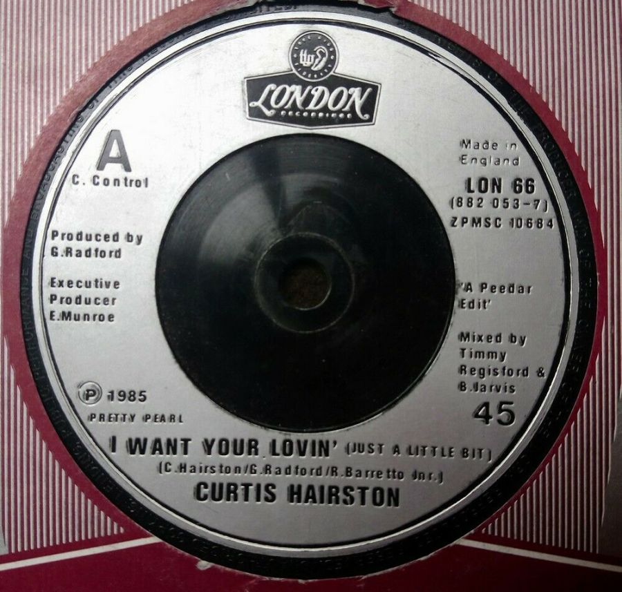 Curtis Hairston - I Want Your Lovin' - 7