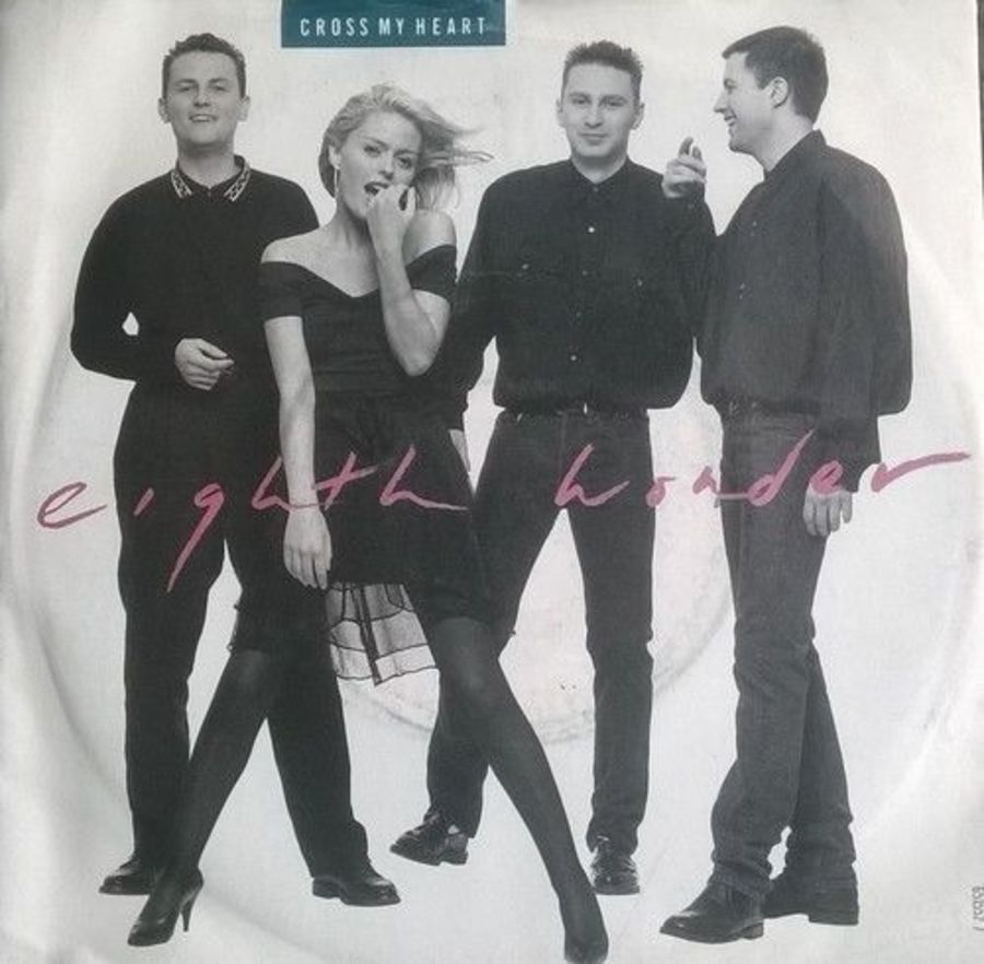 Eighth Wonder - Cross My Heart - Vinyl Record 7