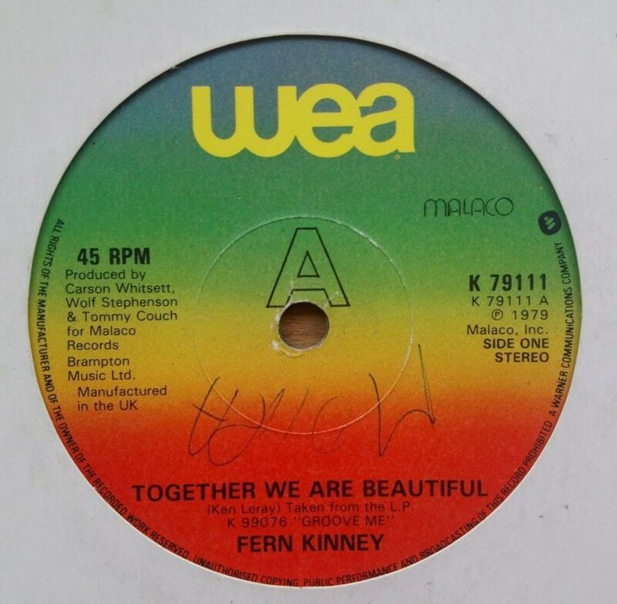 Fern Kinney - Together We Are Beautiful - Vinyl Record 7
