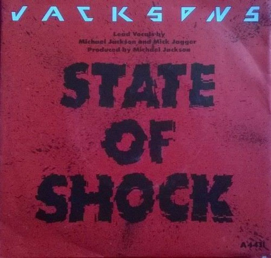 Jackson's - State Of Shock - Vinyl Record 7