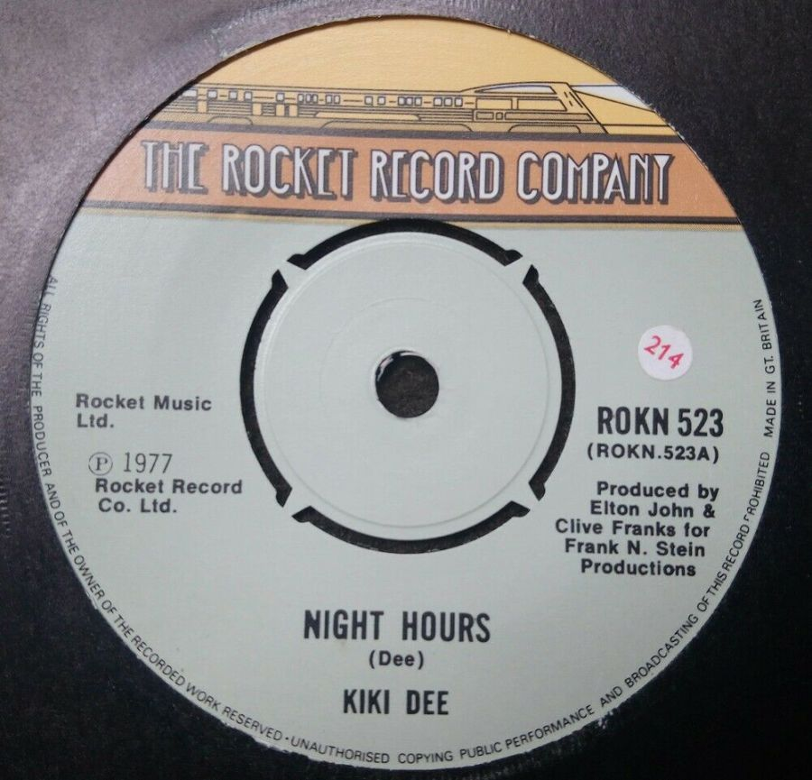 Kiki Dee - Night Hours - Vinyl Record 7