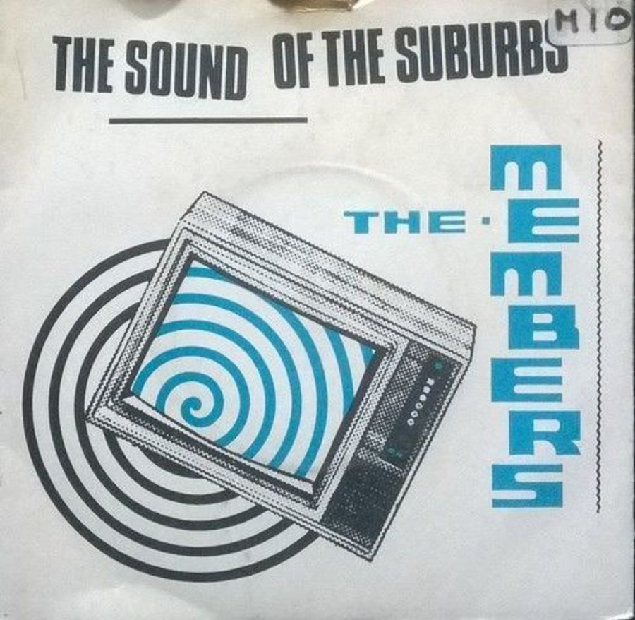The Members - The Sound Of The Suburbs - Vinyl Record 7
