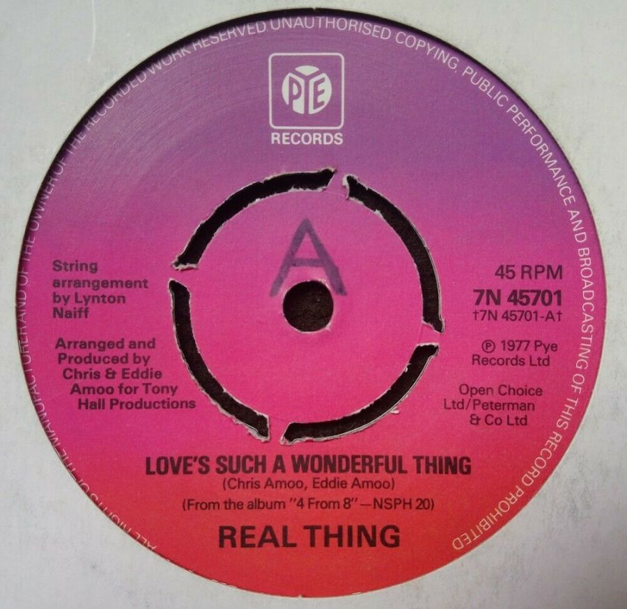 Real Thing - Love's Such A Wonderful Thing - 7