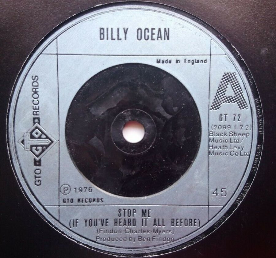 Billy Ocean - Stop Me ( If You've Heard It All Before - 7