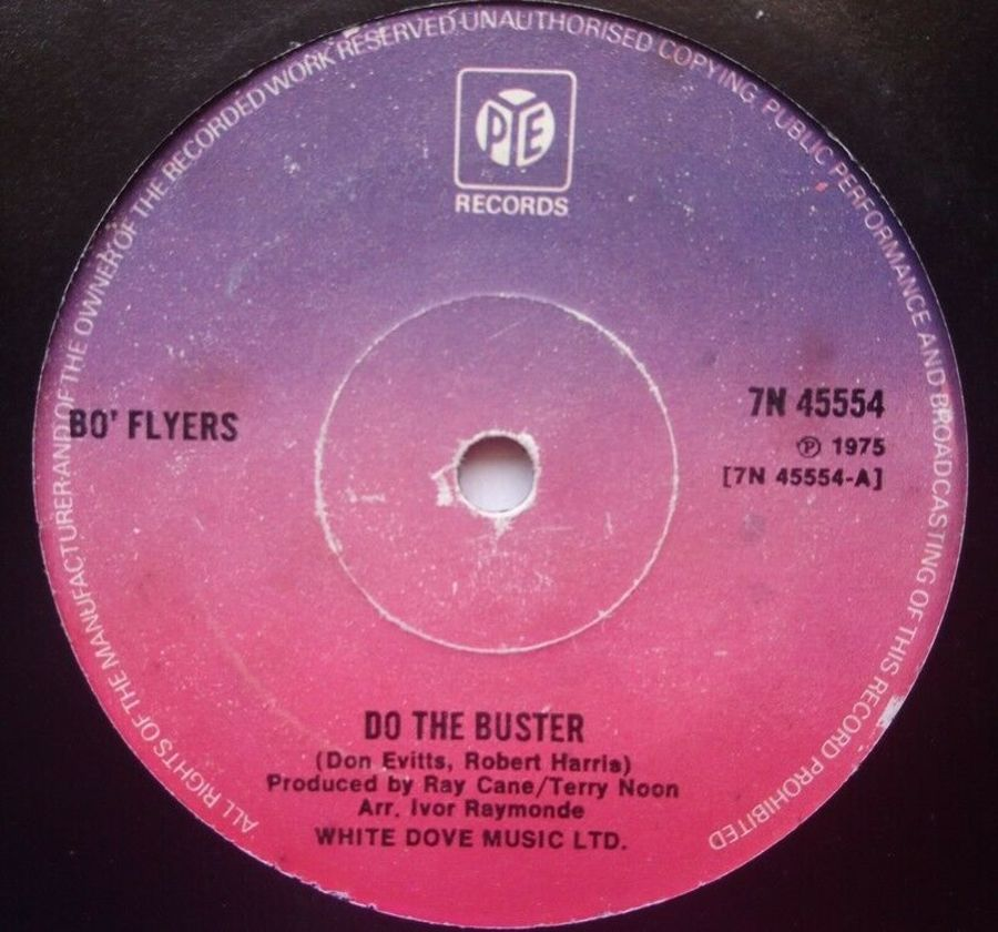 Bo Flyers - Do The Buster - 7