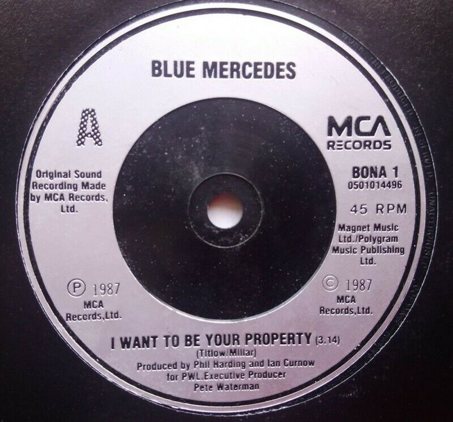 Blue Mercedes - I Want To Be Your Property - 7