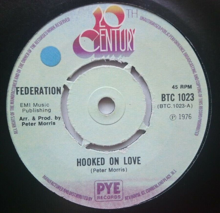 Federation - Hooked On Love - 7