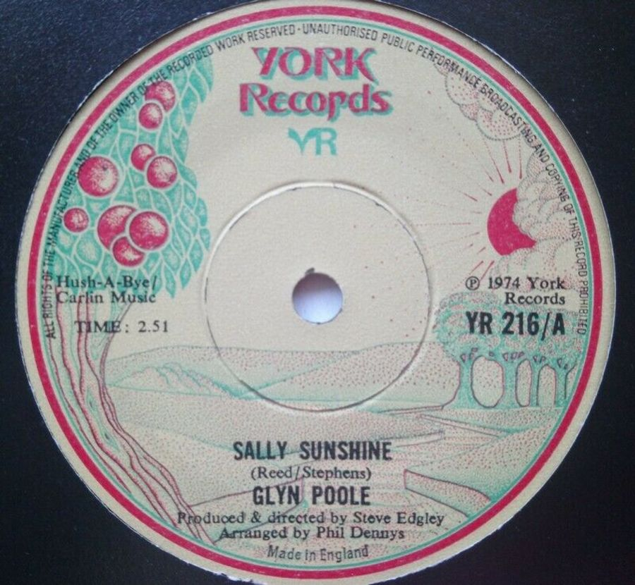 Glyn Poole - Sally Sunshine - 7