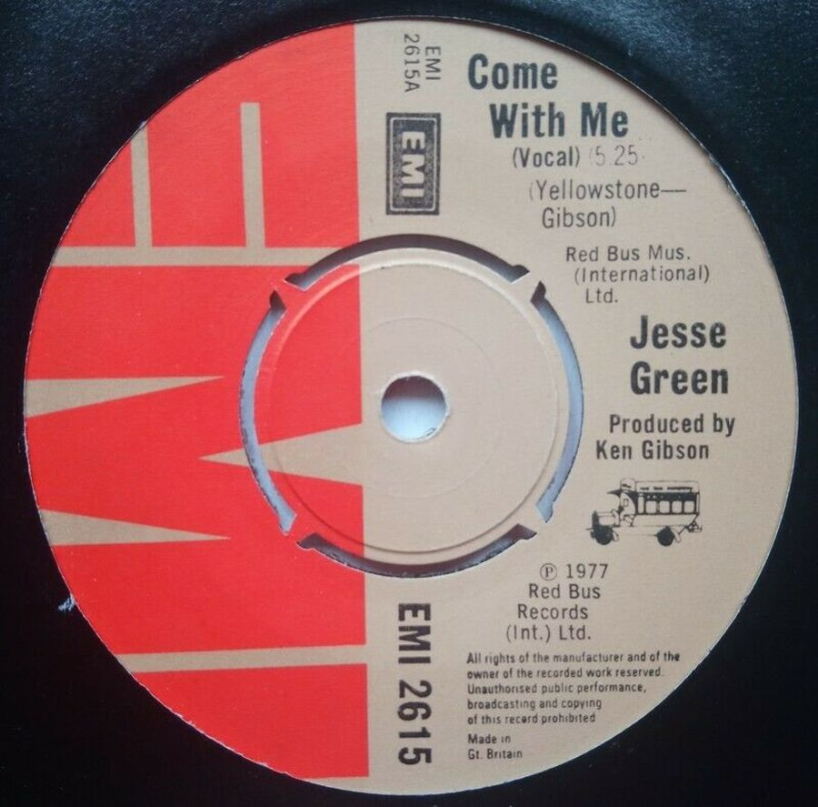 Jesse Green - Come With Me- 7