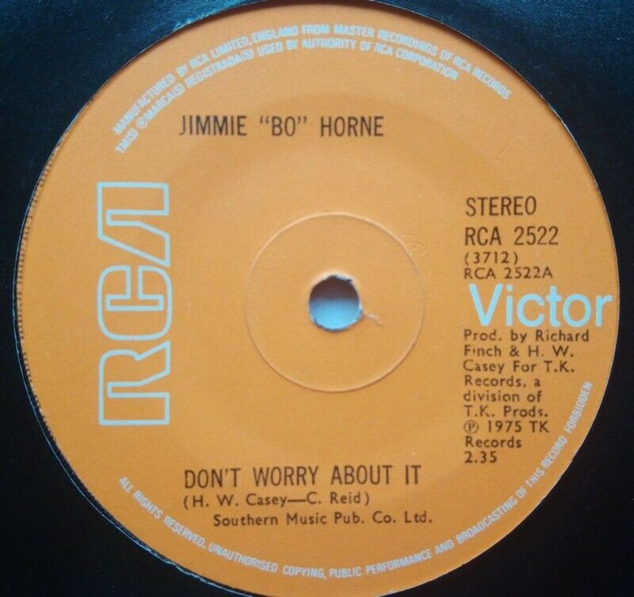 Jimmie Bo Horne - Don't Worry About It - 7