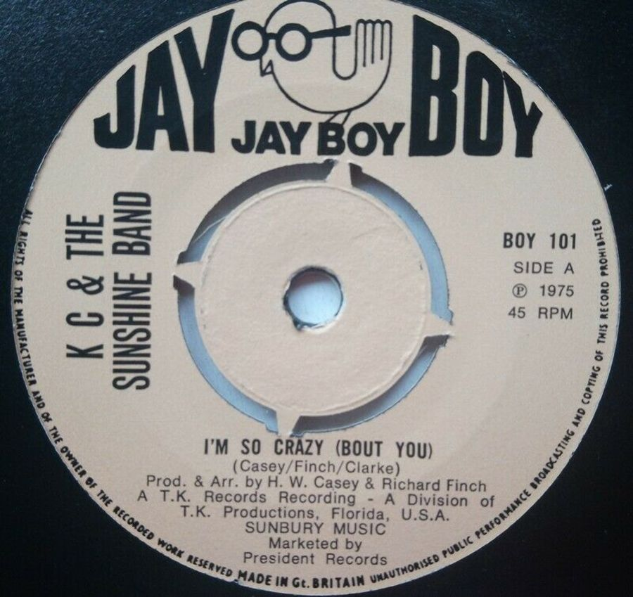 KC & The Sunshine Band - I'm So Crazy ( Bout You ) - 7