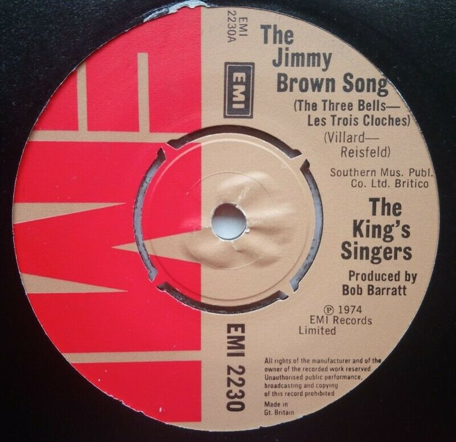 The King's Singers - The Jimmy Brown Song - 7