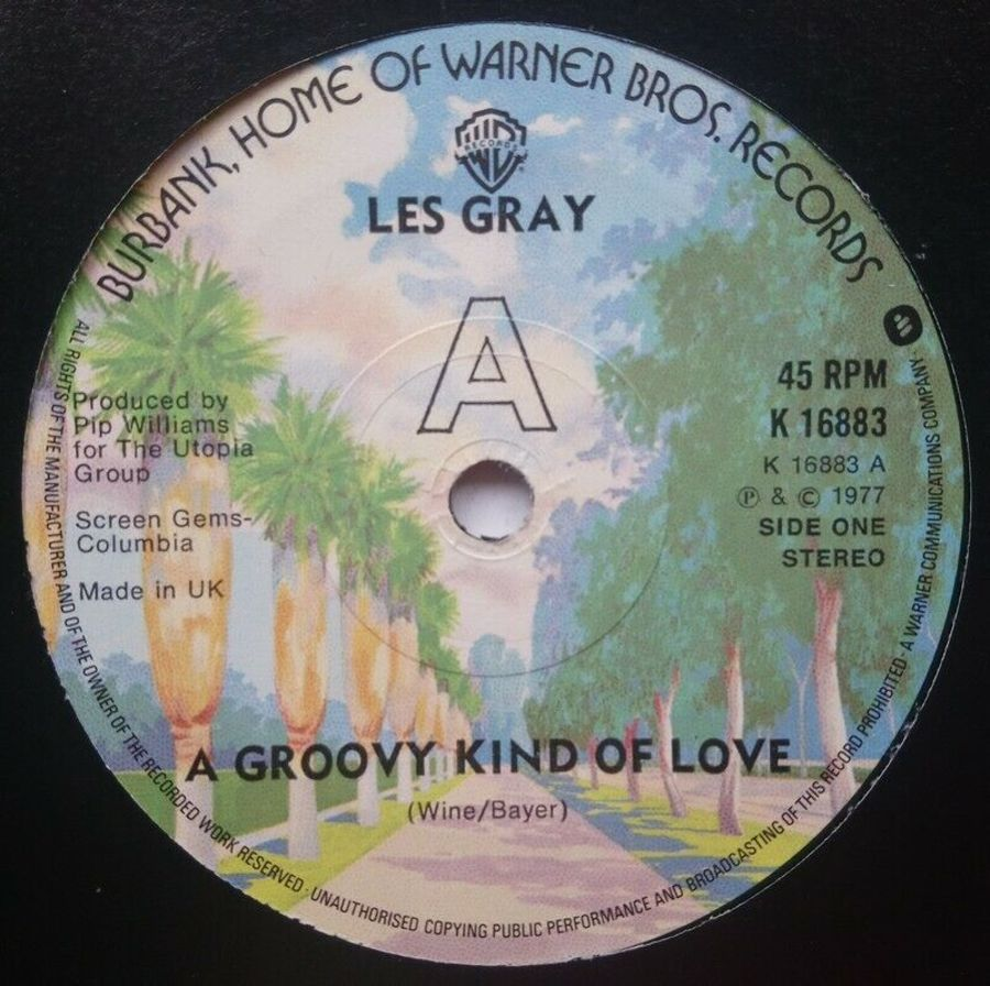 Les Gray - A Groovy Kind Of Love - 7