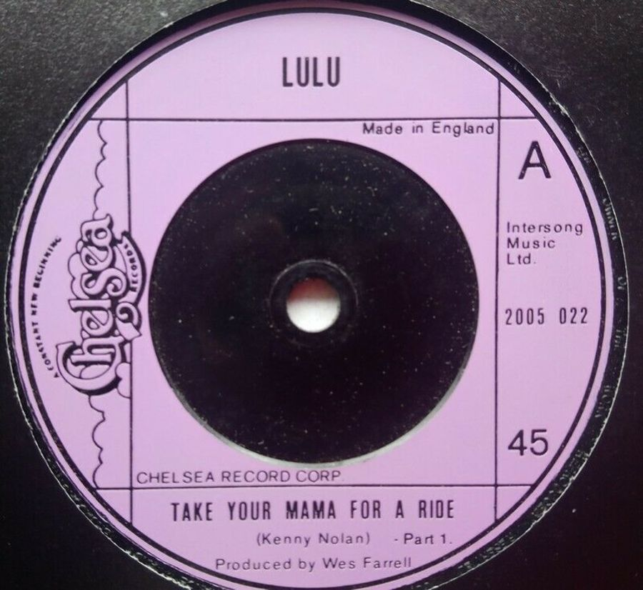 Lulu - Take Your Mama For A Ride - 7