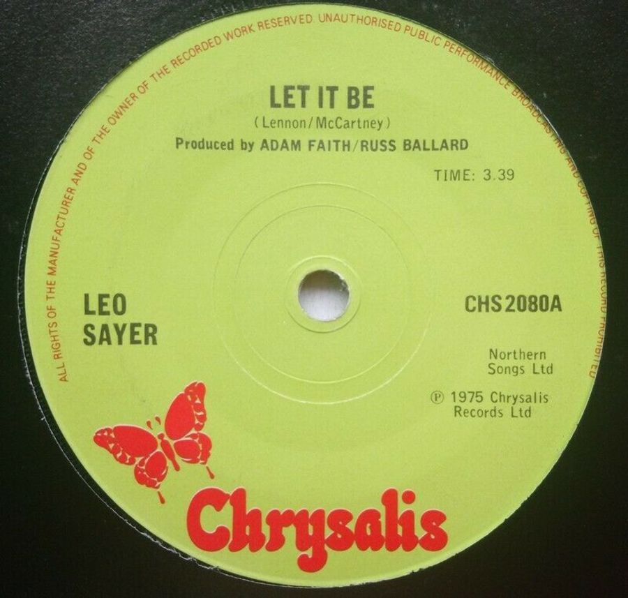 Leo Sayer - Let It Be - 7