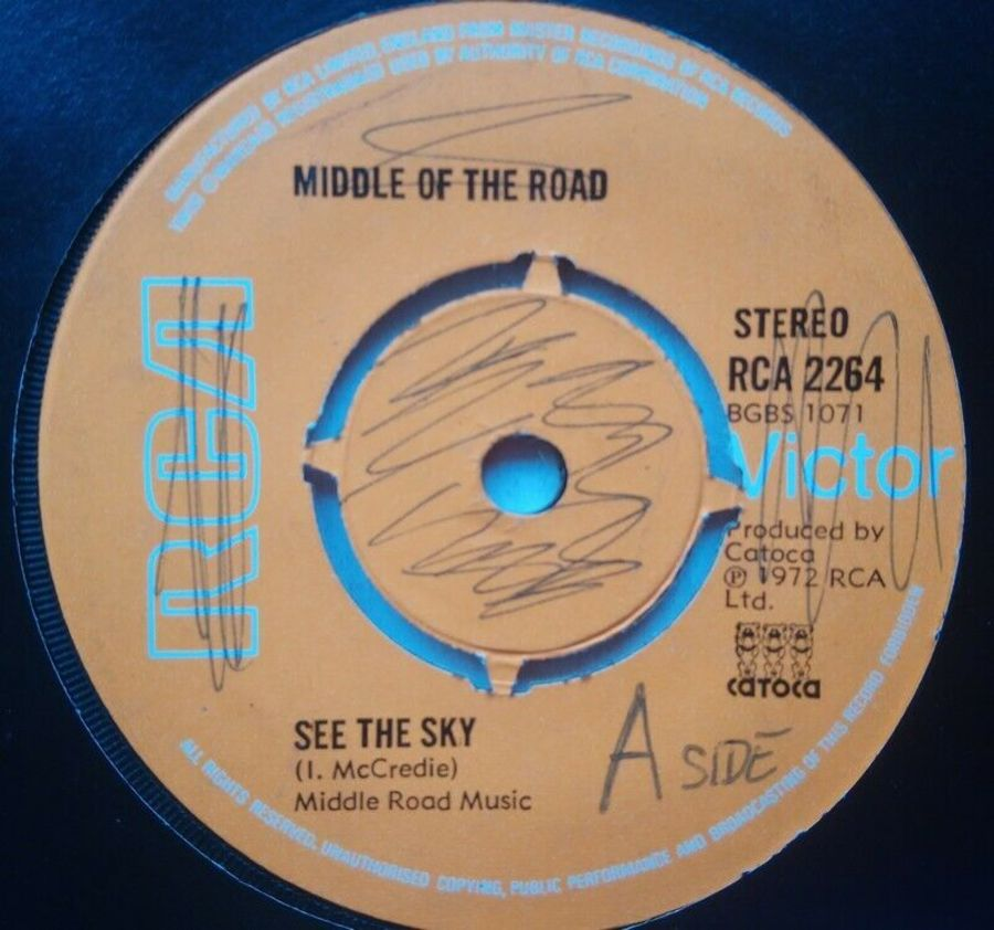 Middle Of The Road - See The Sky - 7