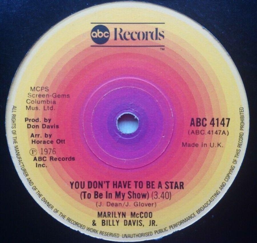 Marilyn McCoo - You Don't Have To Be A Star - 7