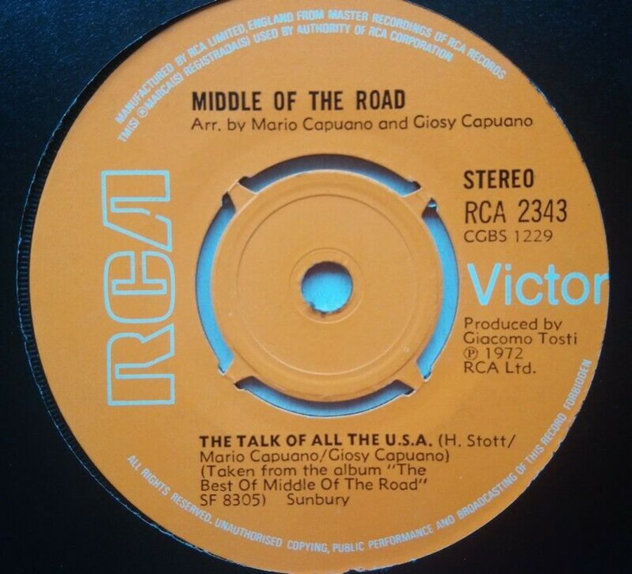 Middle Of The Road - The Talk Of All The U.S.A - 7