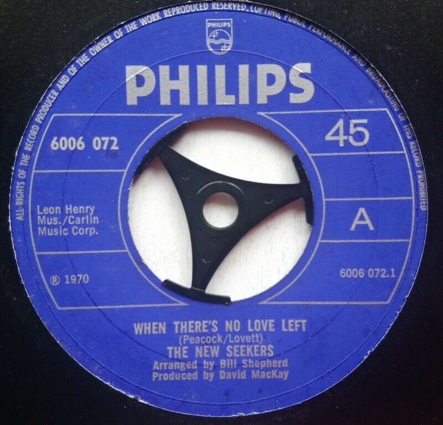 The New Seekers - When There's No Love Left - 7