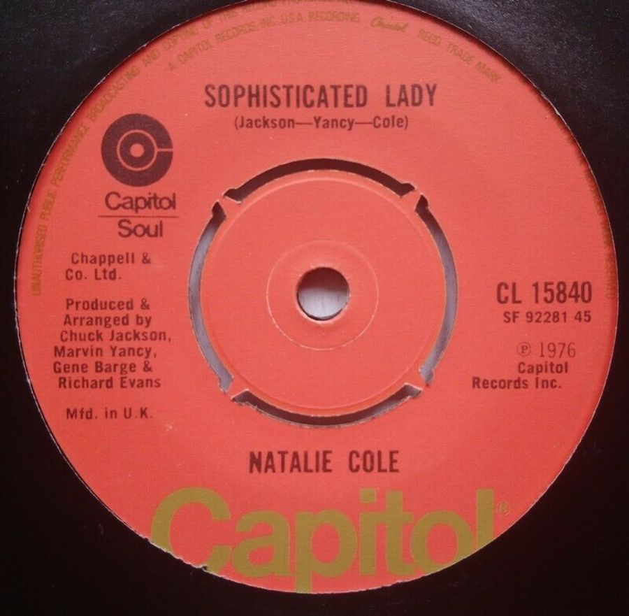 Natalie Cole - Sophisticated Lady - 7