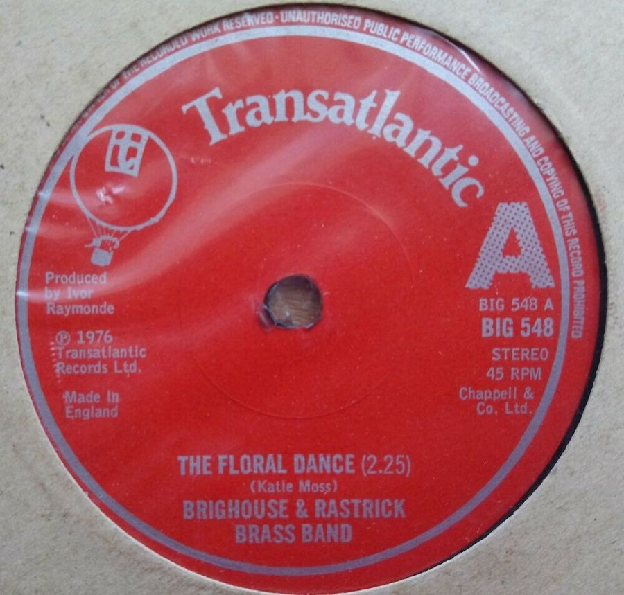 Brighouse And Rastrick - The Floral Dance - Vinyl Record 45 RPM