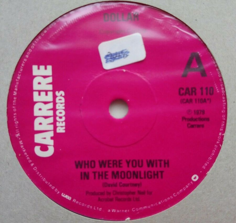 Dollar - Who Were You With In The Moonlight - Vinyl Record 45 RPM