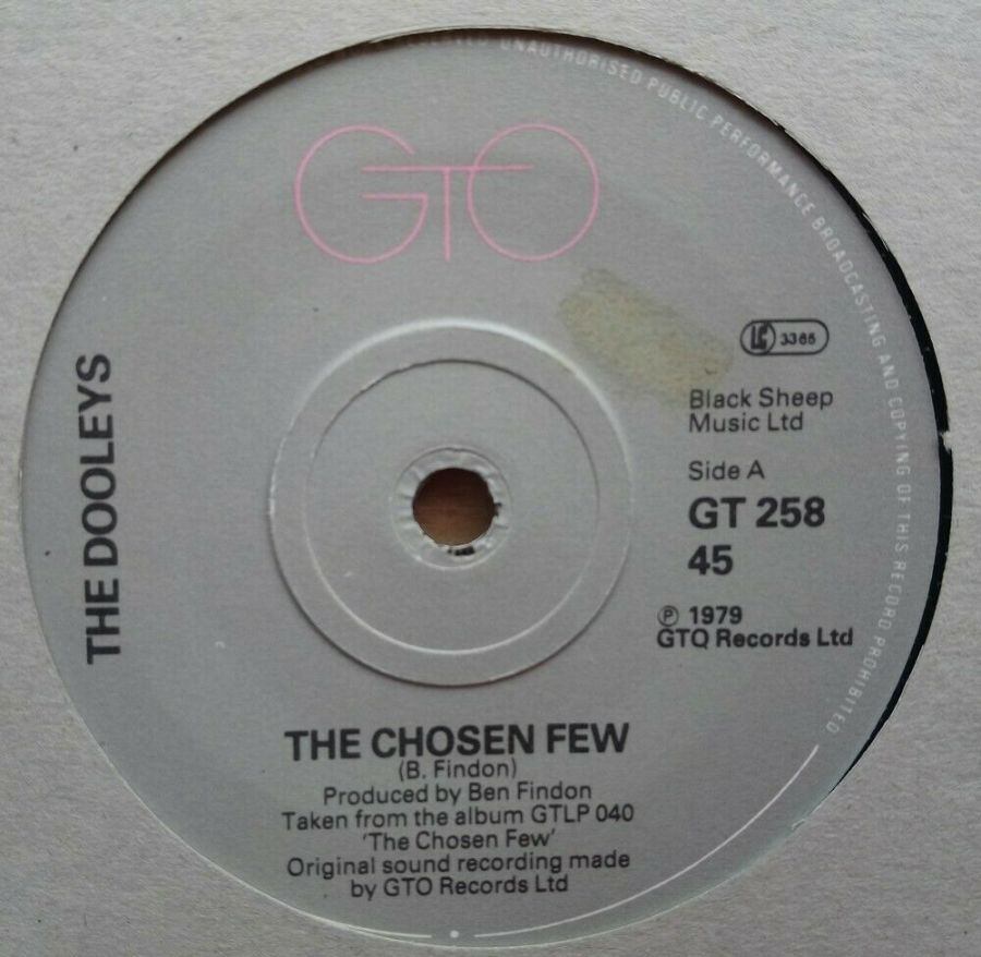 The Dooleys - The Chosen Few - Vinyl Record 45 RPM