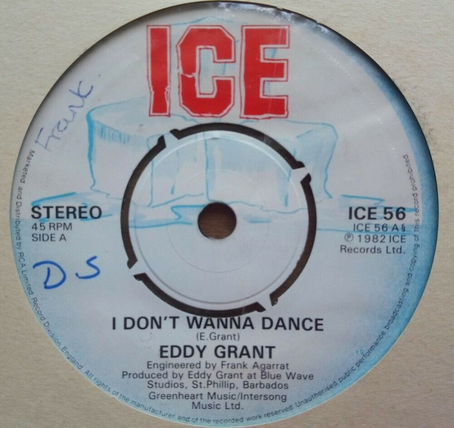 Eddy Grant - I Don't Wanna Dance - Vinyl Record 45 RPM