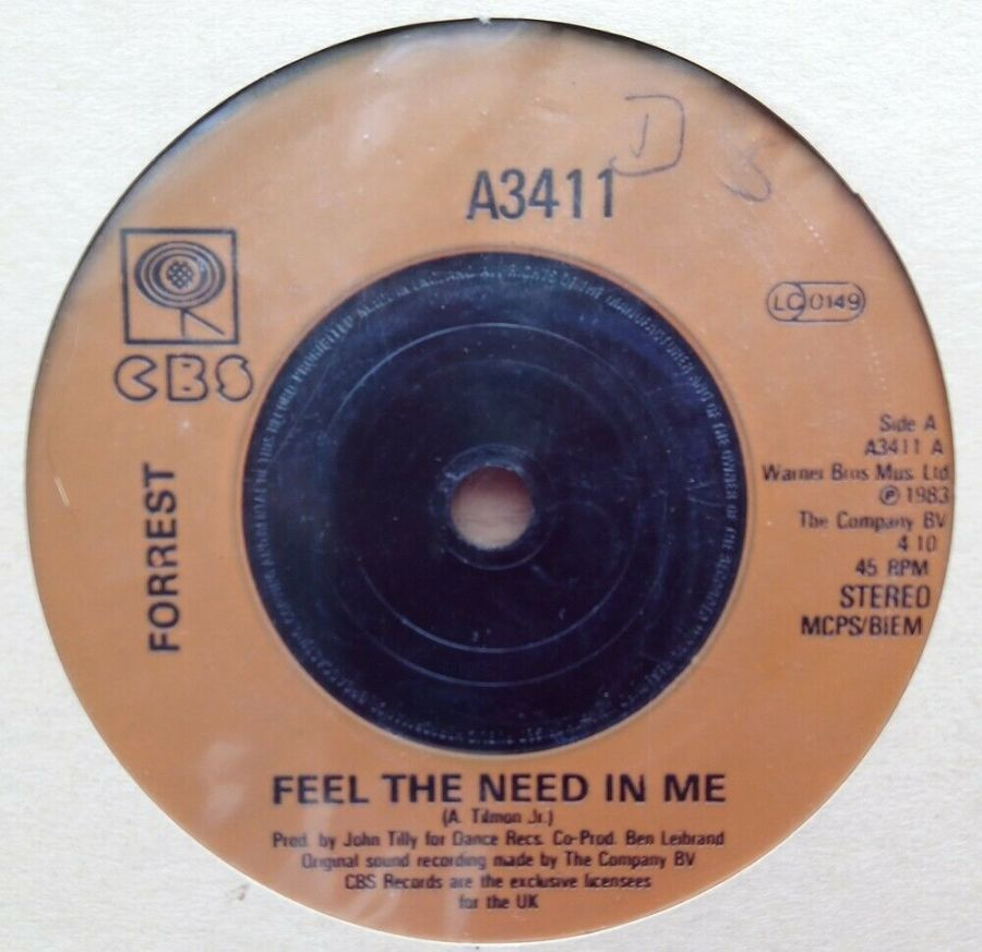 Forrest - Feel The Need In Me - Vinyl Record 45 RPM