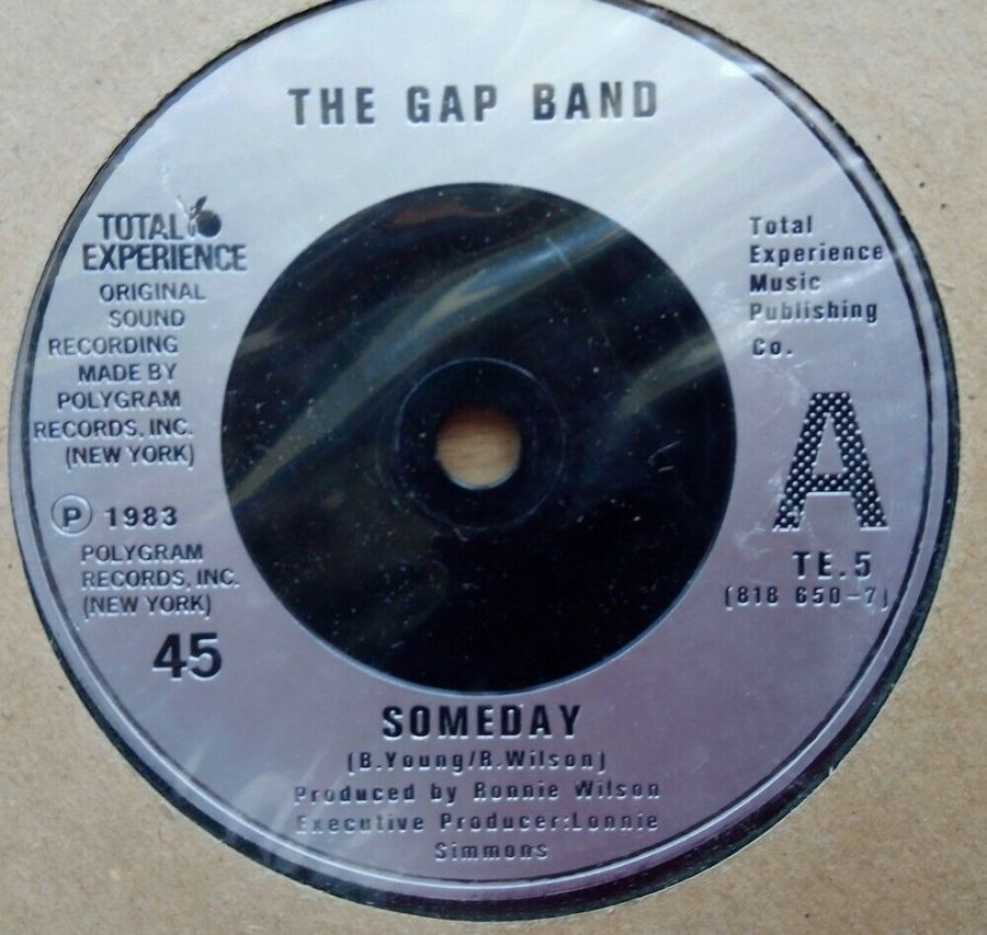 The Gap Band - Someday - Vinyl Record 45 RPM