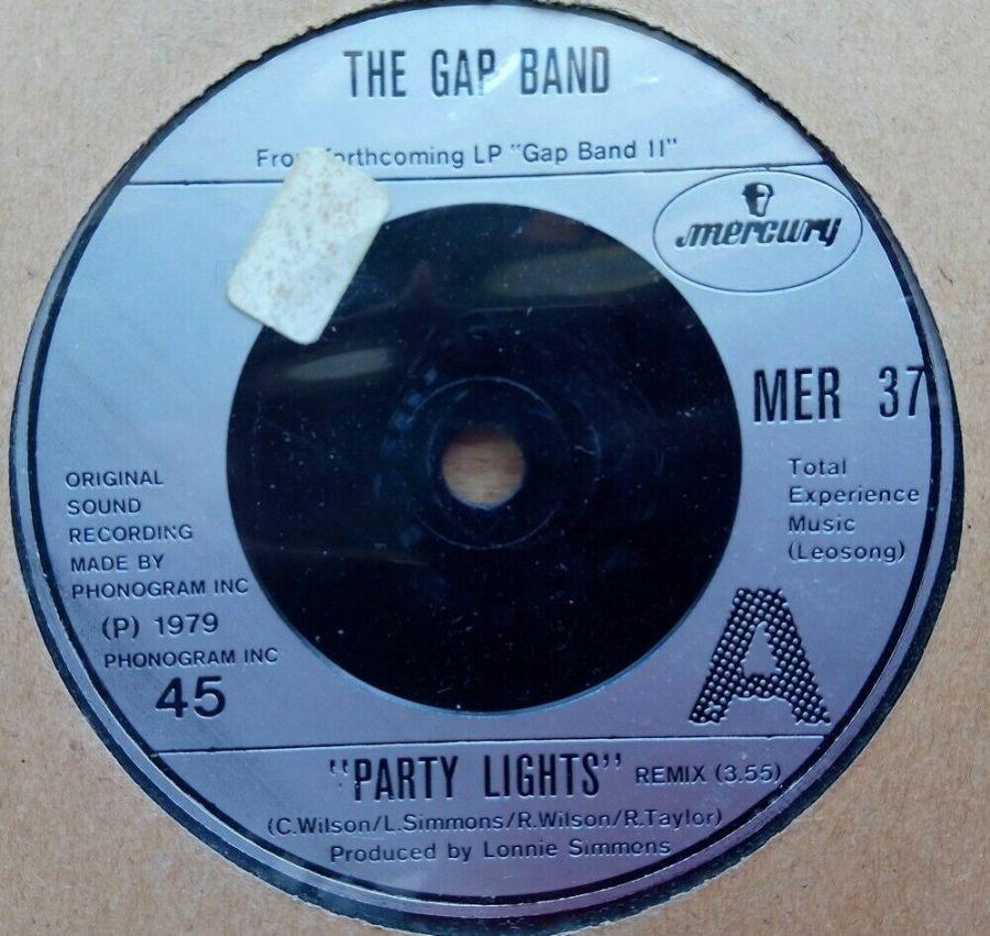 The Gap Band - Party Lights - Vinyl Record 45 RPM