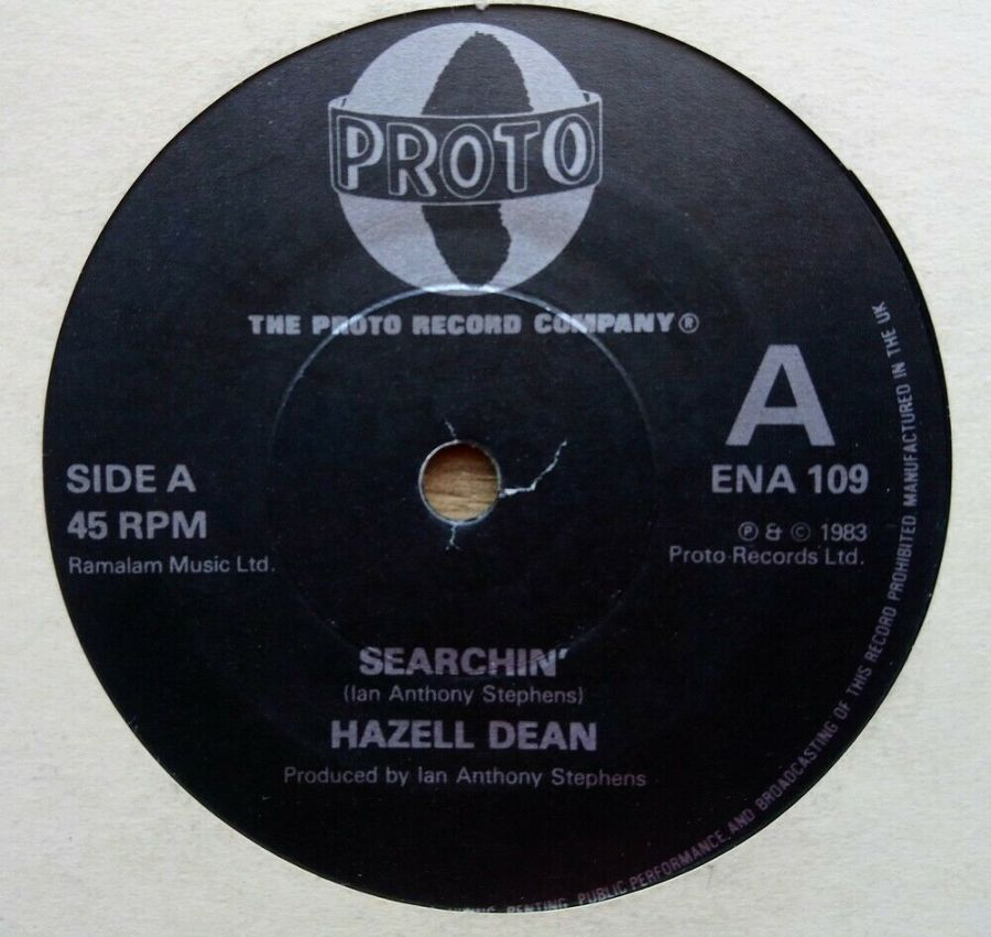 Hazell Dean - Searchin' - Vinyl Record 45 RPM