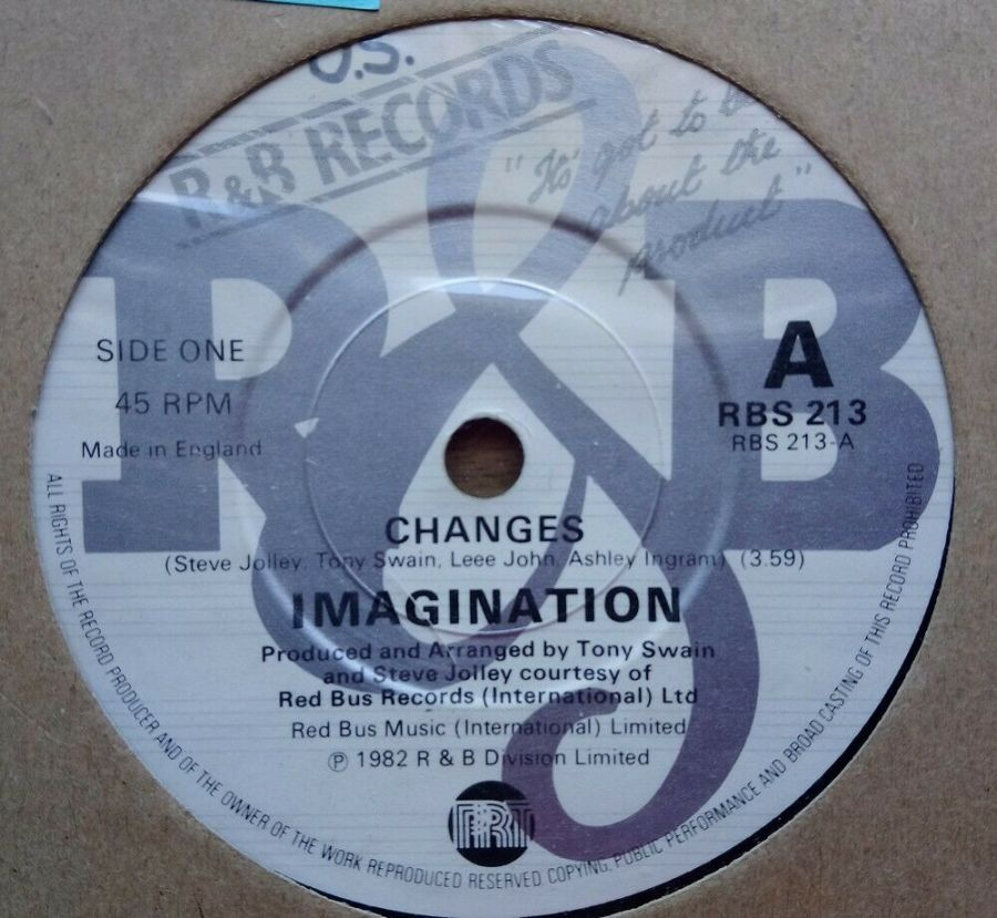 Imagination - Changes - Vinyl Record 45 RPM