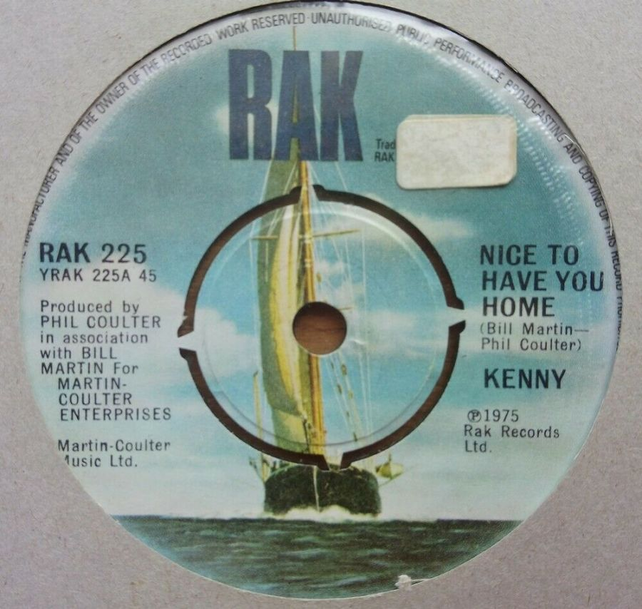 Kenny - Nice To Have You Home - Vinyl Record 45 RPM