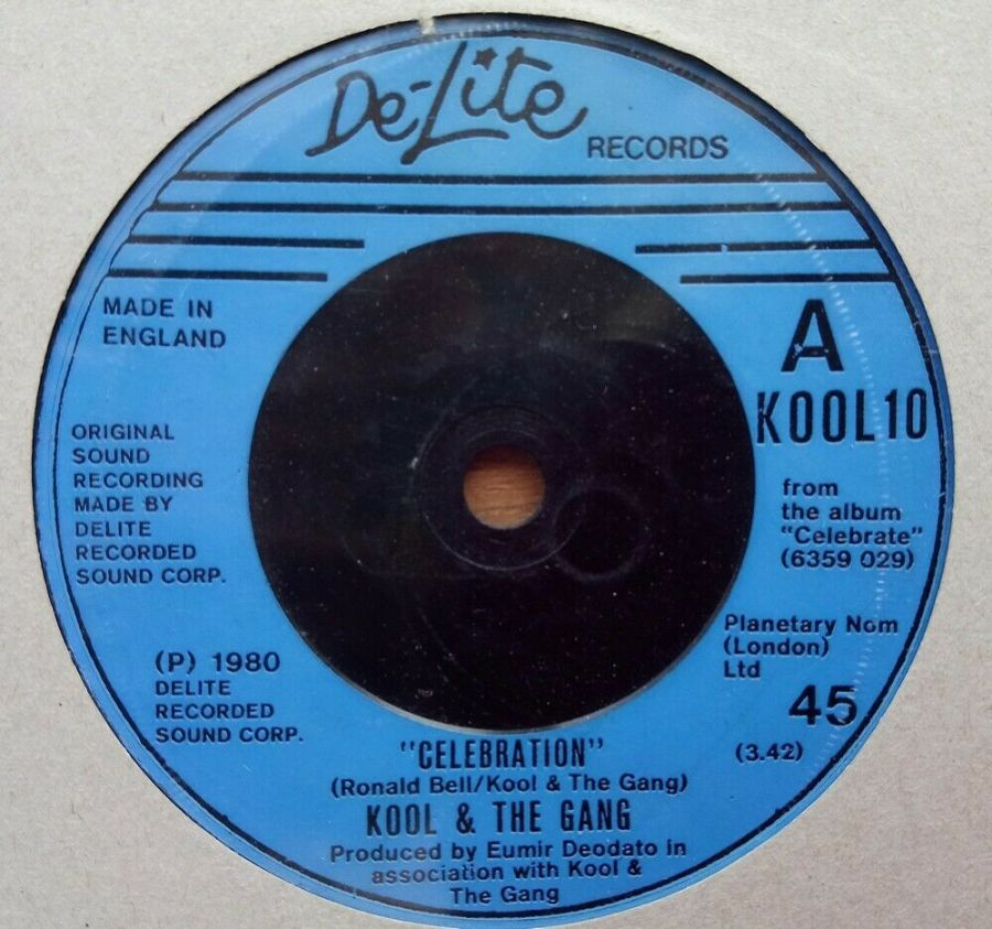 Kool & The Gang - Celebration - Vinyl Record 45 RPM