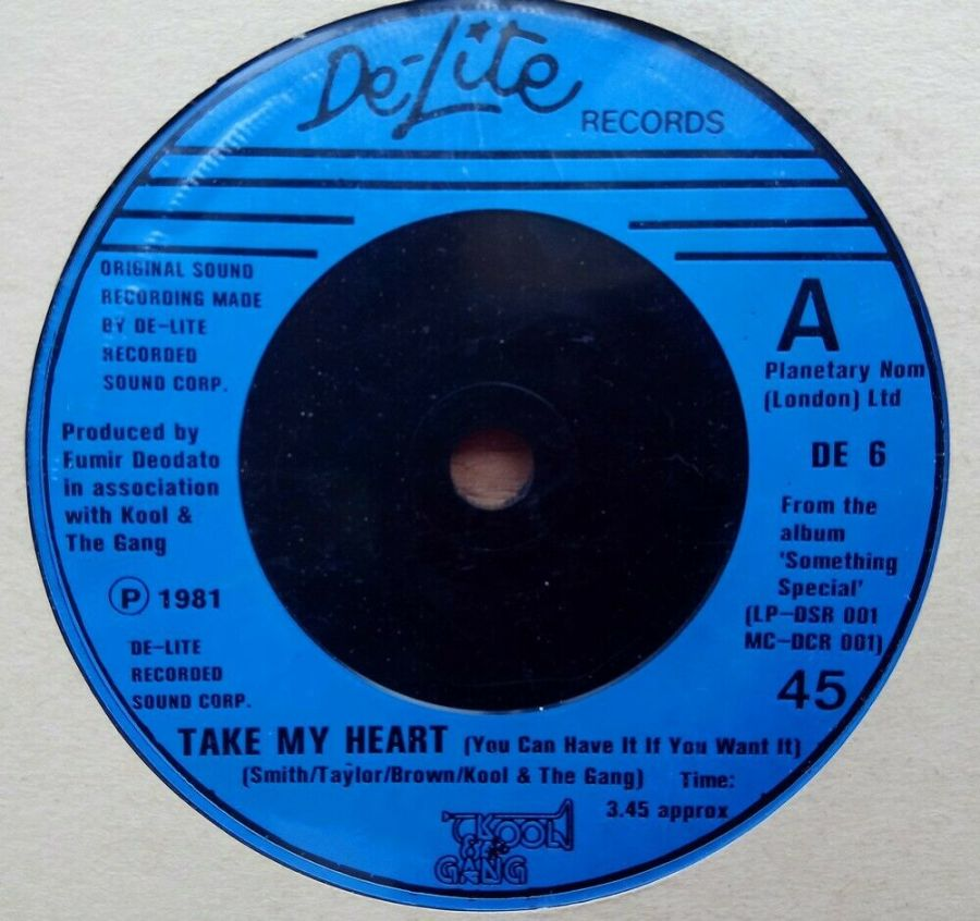 Kool & The Gang - Take My Heart - Vinyl Record 45 RPM