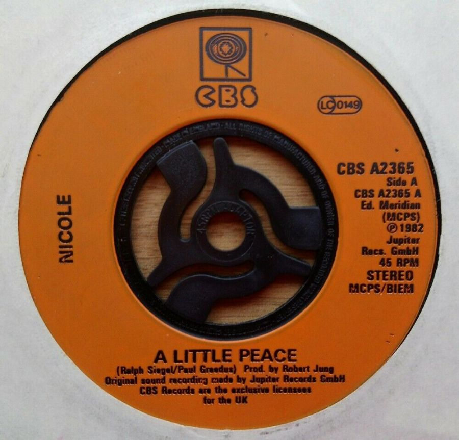 Nicole - A Little Piece - Vinyl Record 45 RPM