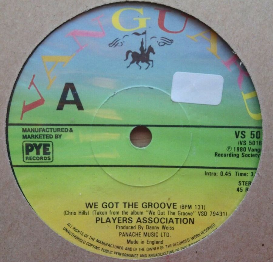 Players Association - We Got The Groove - Vinyl Record 45 RPM