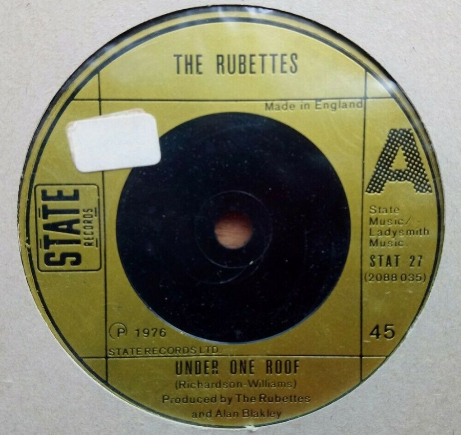 Rubettes - Under One Roof - Vinyl Record 45 RPM
