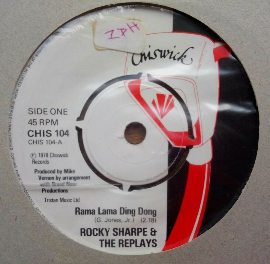 Rocky Sharpe & The Replays - Rama Lama Ding Dong - Vinyl Record 45 RPM