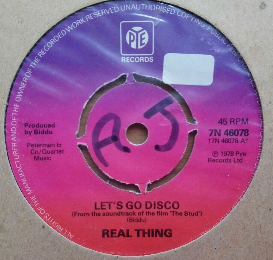 Real Thing - Let's Go Disco - Vinyl Record 45 RPM