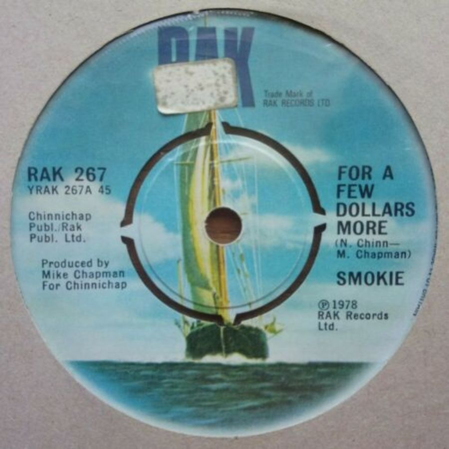 Smokie - For A Few Dollars More - Vinyl Record 45 RPM