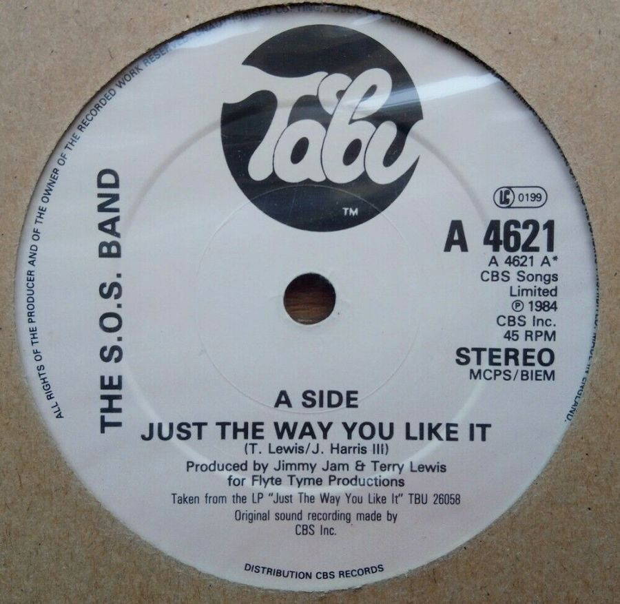 The S.O.S Band - Just The Way You Like It - Vinyl Record 45 RPM