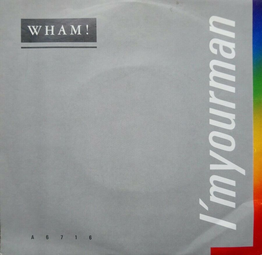 Wham! - I'm Your Man - Vinyl Record 45 RPM
