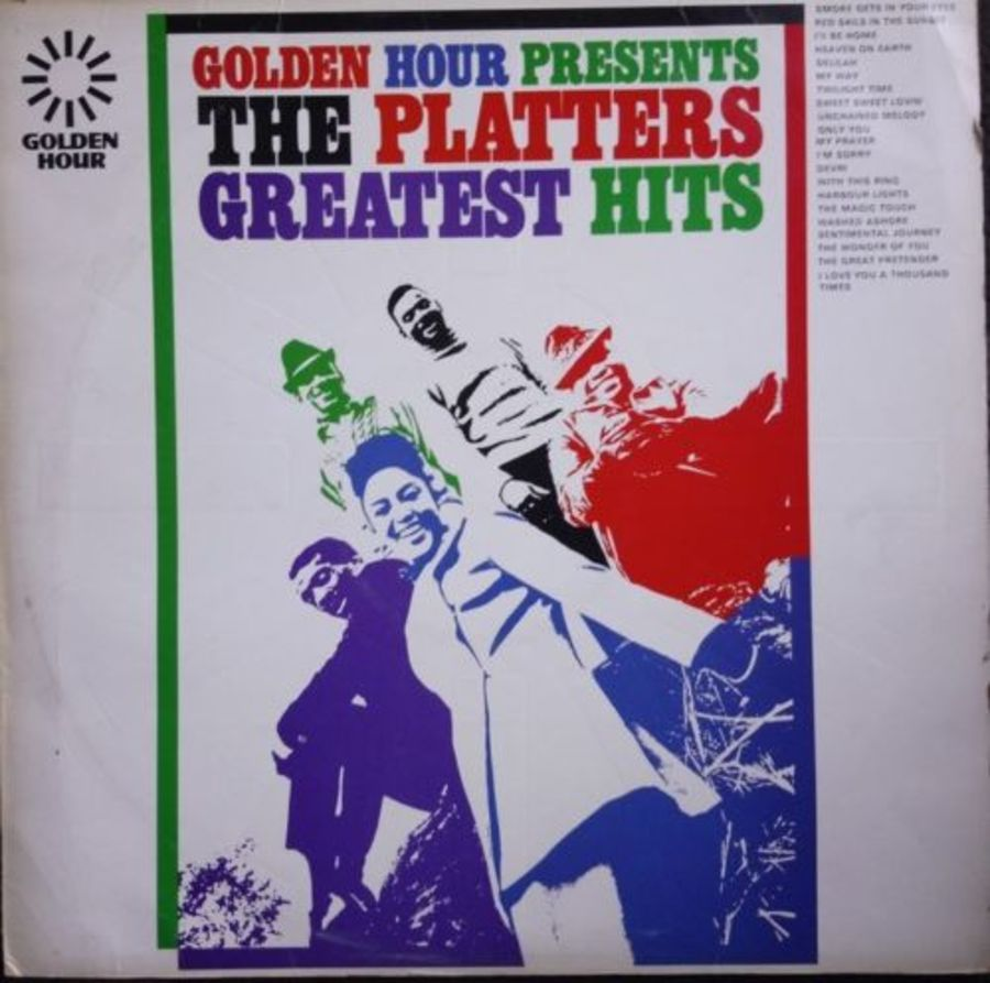 Golden Hour Presents - The Platters Greatest Hits - Vinyl Record Album